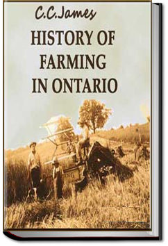 History of Farming in Ontario by C. C. James