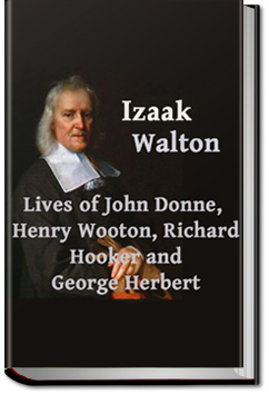 Lives of John Donne, Henry Wotton, Richard Hooker, by Izaak Walton