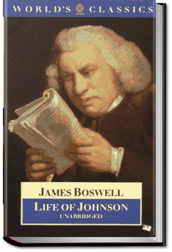 Life of Johnson - Volume 2 by James Boswell