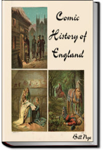 Comic History of England by Bill Nye