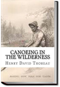 Canoeing in the wilderness by Henry David Thoreau